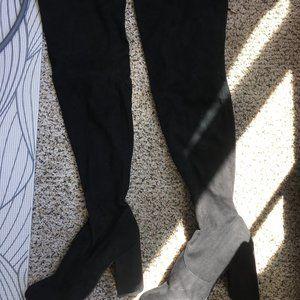 Steve Madden Norri Black Knee High Boots